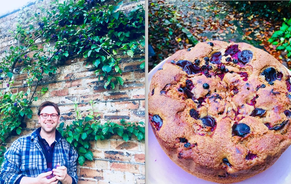 Teasses; Estate; Recipe: Organic:; Plum Cake