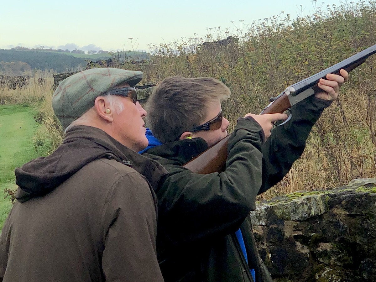 Clay Pigeon Shooting with coach